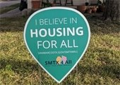 Housing For All Yard Sign