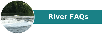 photo of river with caption of River FAQs