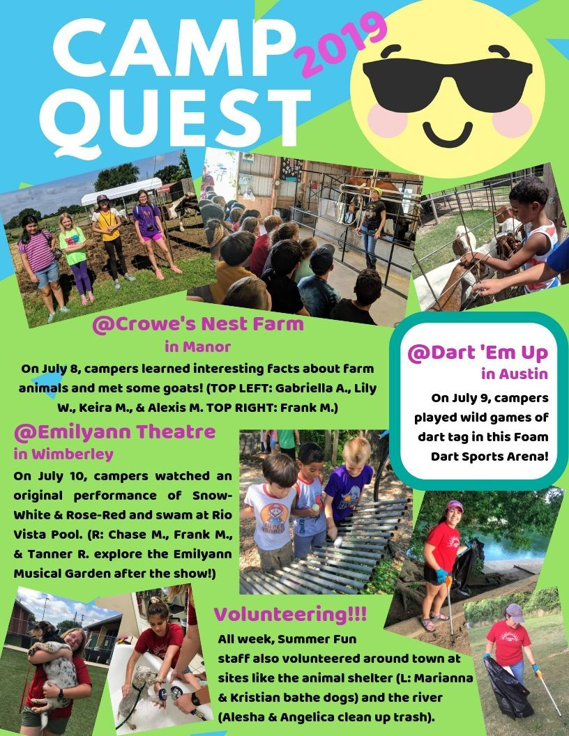 Camp Quest 1 Page 1