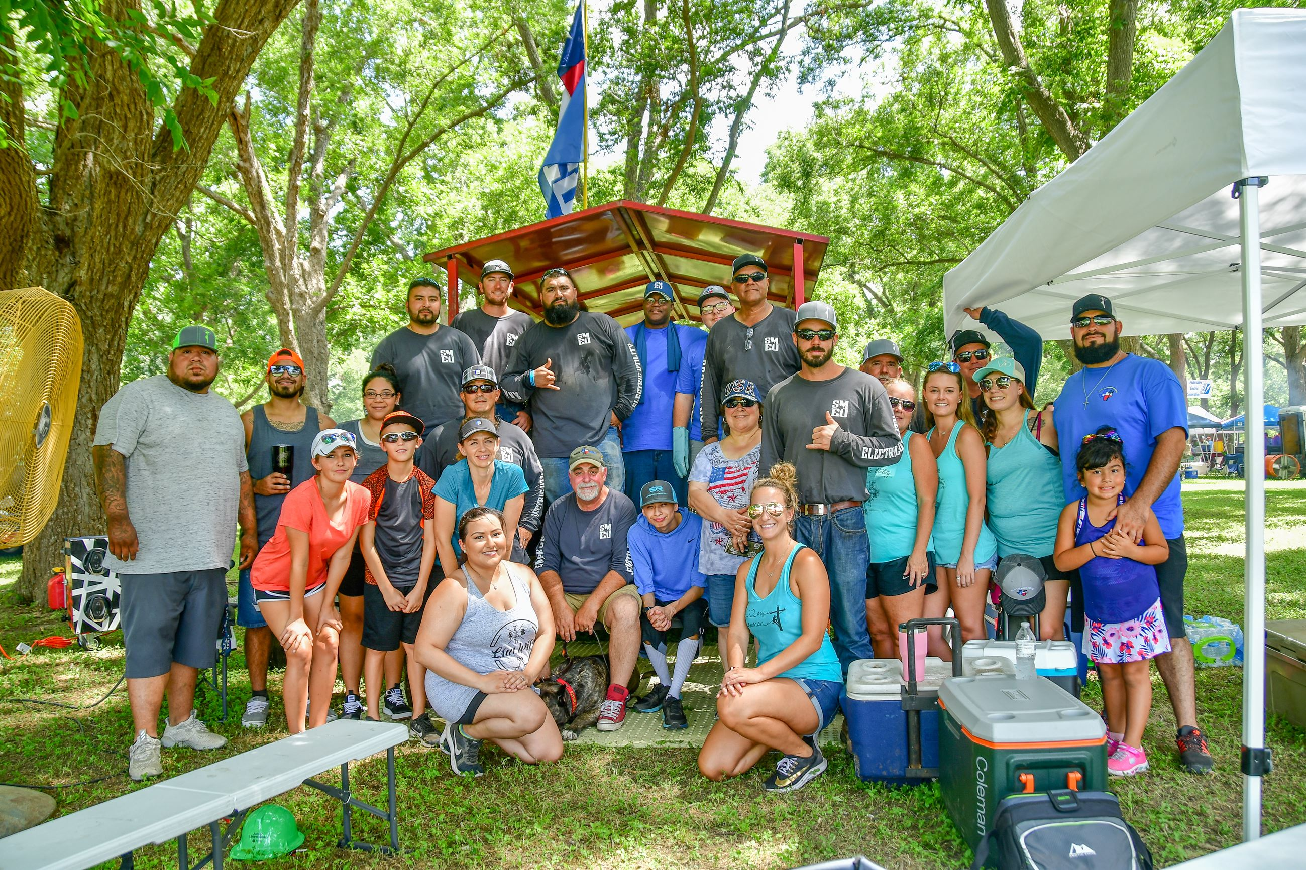 2019 Texas Lineman's Rodeo Group photo