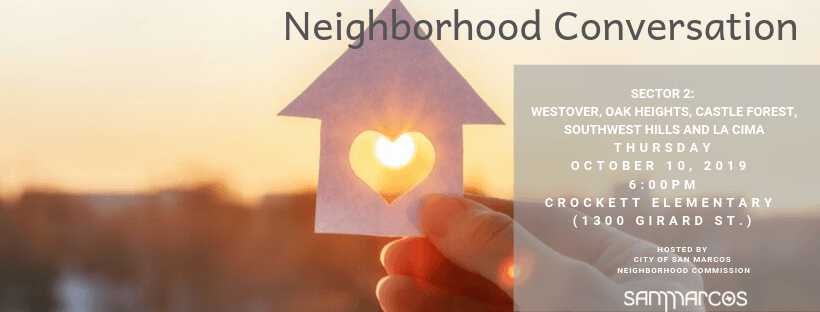 Neighborhood Conversation - event image