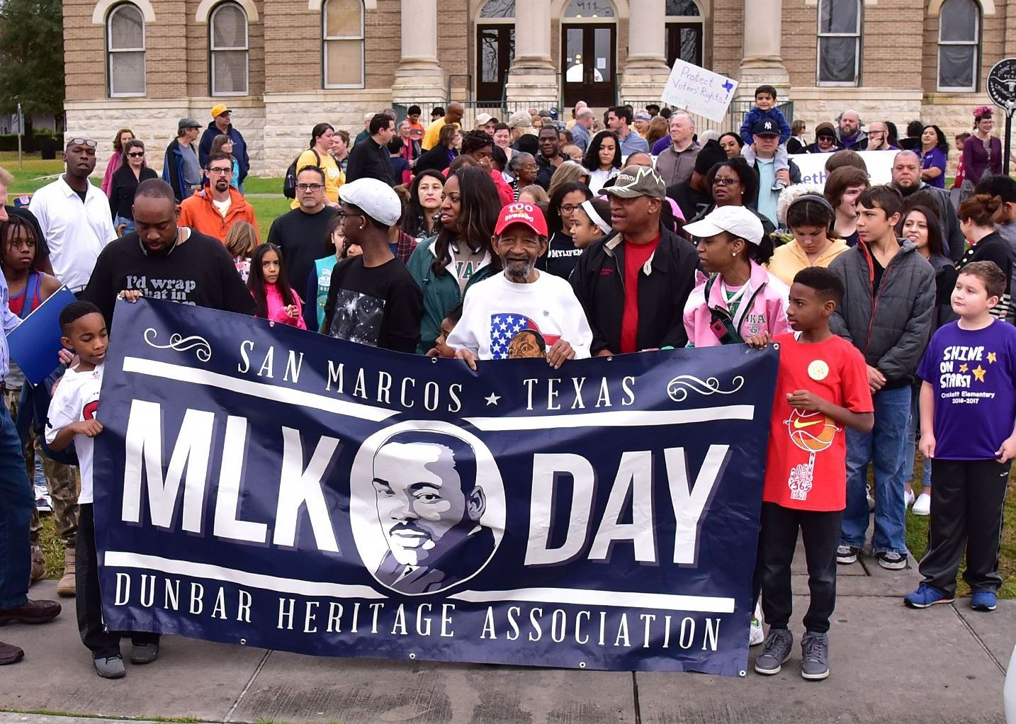 Photo of Martin Luther King, Jr. Rally from 2019