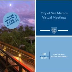 City of San Marcos Virtual Meetings