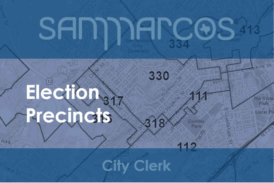 Election Precincts Map