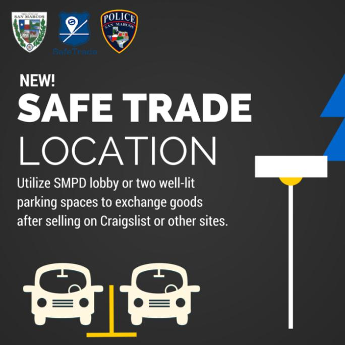Safe Trade Location: Utilize Police Lobby or Well Lit Parking Spaces to Exchange Goods After Selling