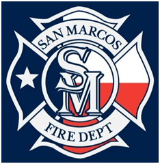 San Marcos Fire Department Logo