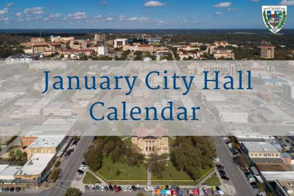 January City Hall Calendar