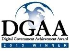 Digital Government Achievement Award 2013 Winner