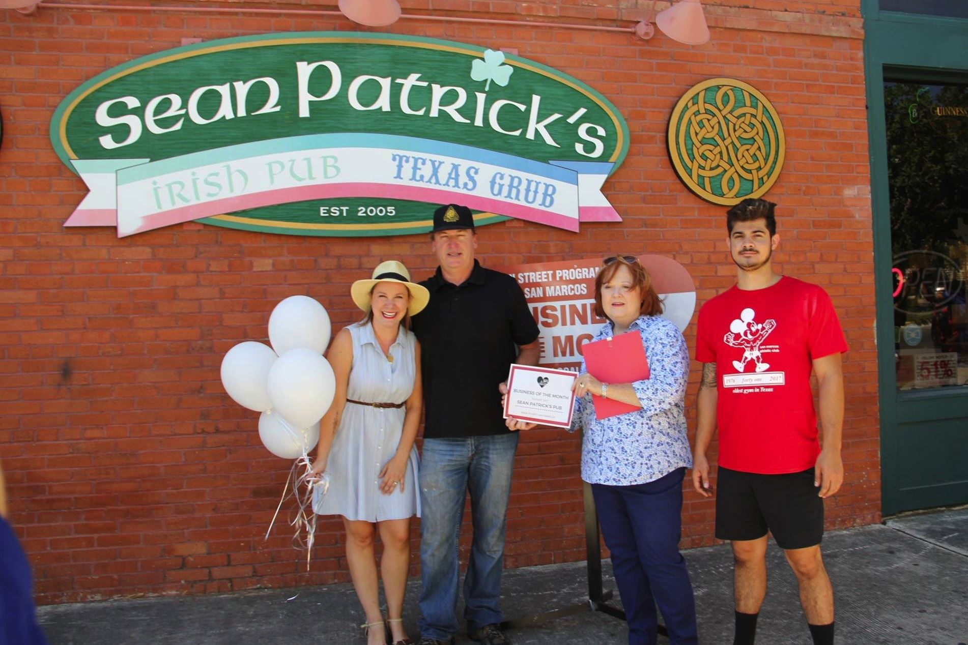 August Business of the Month Sean Patricks