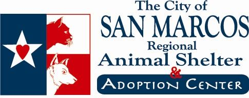 The City of San Marcos Regional Animal Shelter and Adoption Center logo