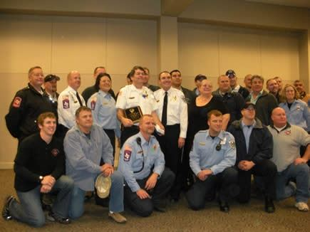 Captain Bill Schroeder Retirement Reception