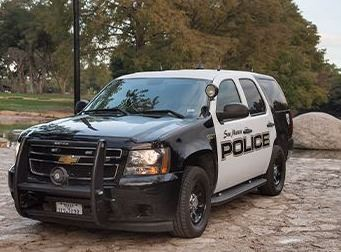 San Marcos police vehicle