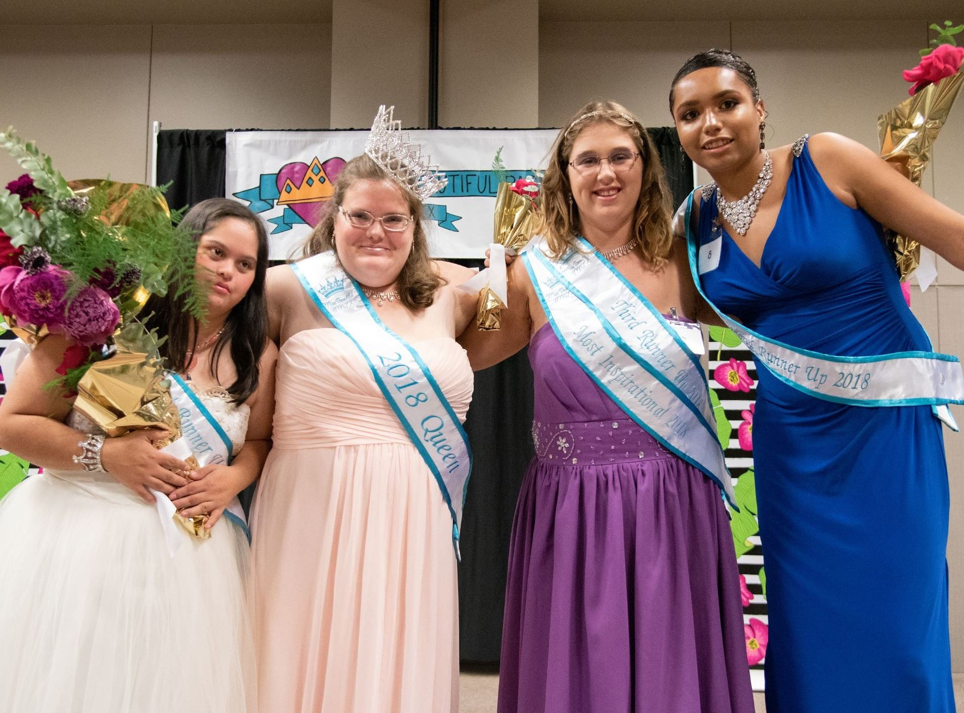 2018 Pageant Court