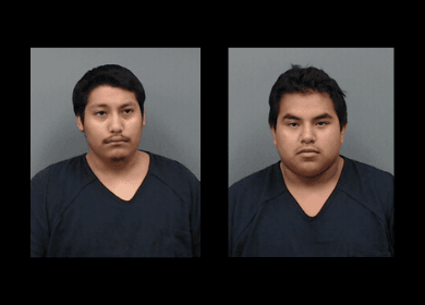 Hays County Jail Booking Photos of Angelo Quihuiz and John Coronado