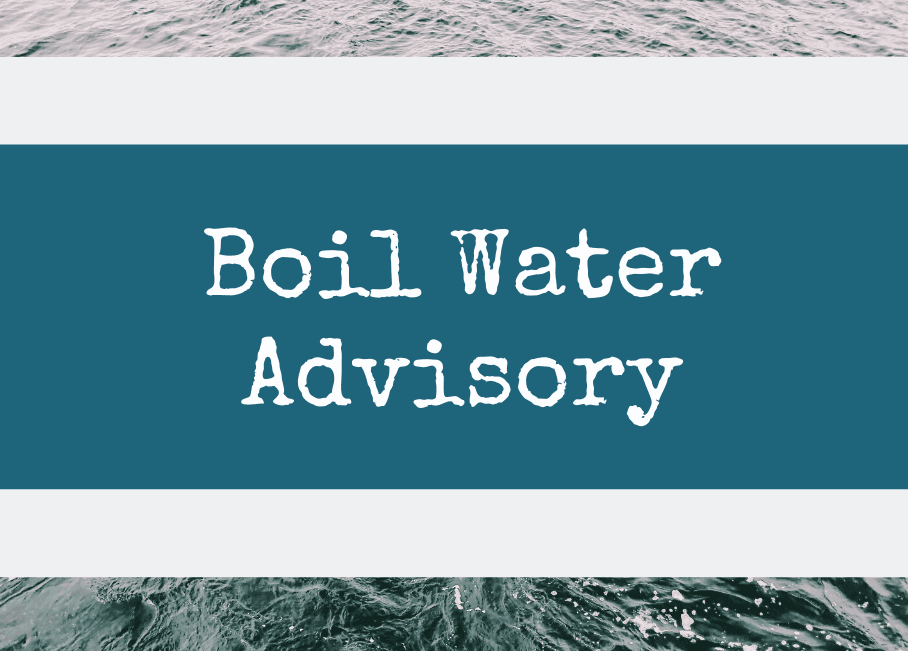 Boil Water Advisory Graphic