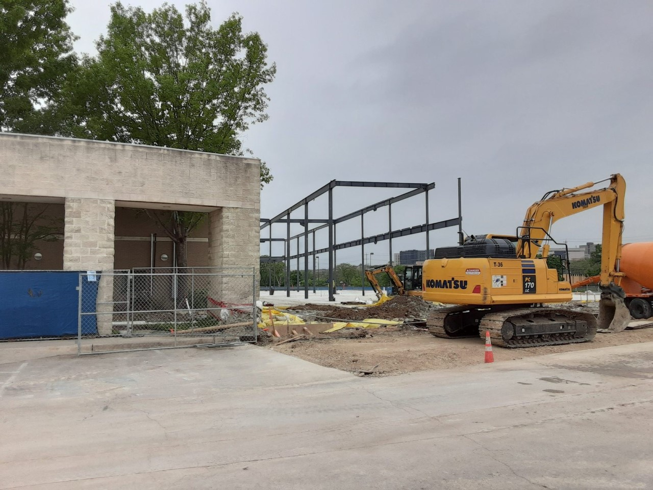 Library Expansion Progress 4.2.2020