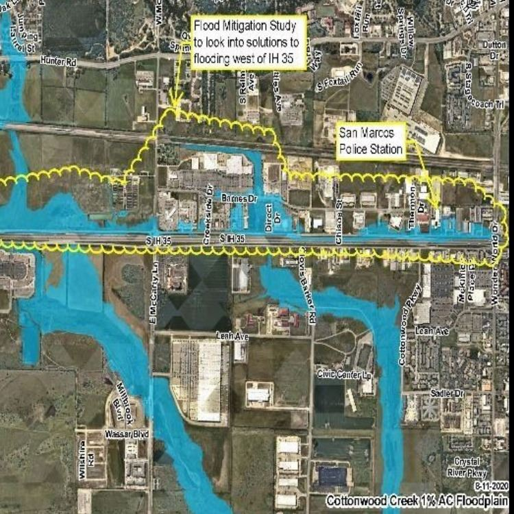 Cottonwood Creek Flood Mitigation Study image