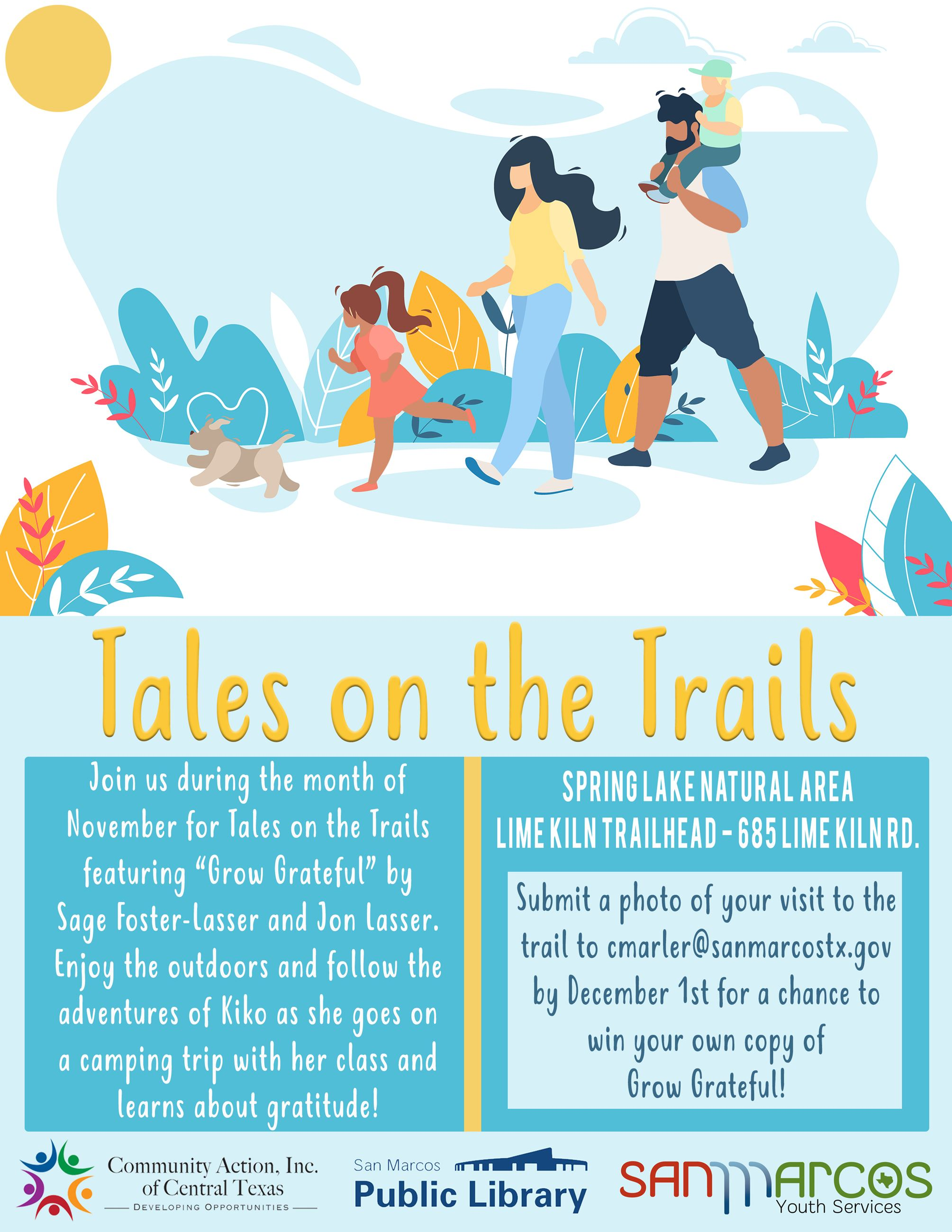 Tales on the Trails - November
