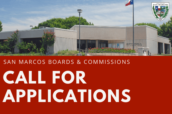 Boards and Commissions call for applications