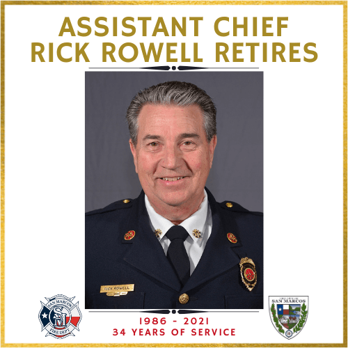 Chief Rowell Retires 01-22-21