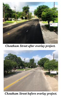 Cheatham Street Before and After